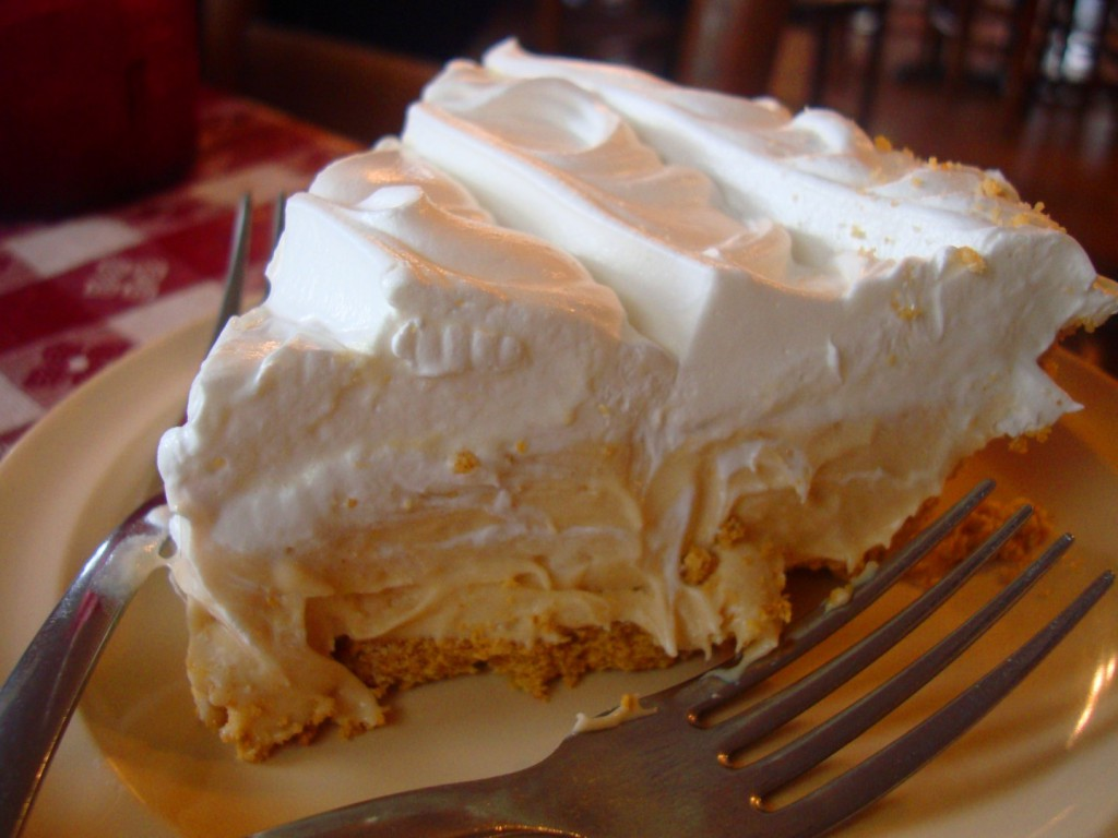 The Pie Lady At Abear's Cafe Is Worth Her Weight In Gold.