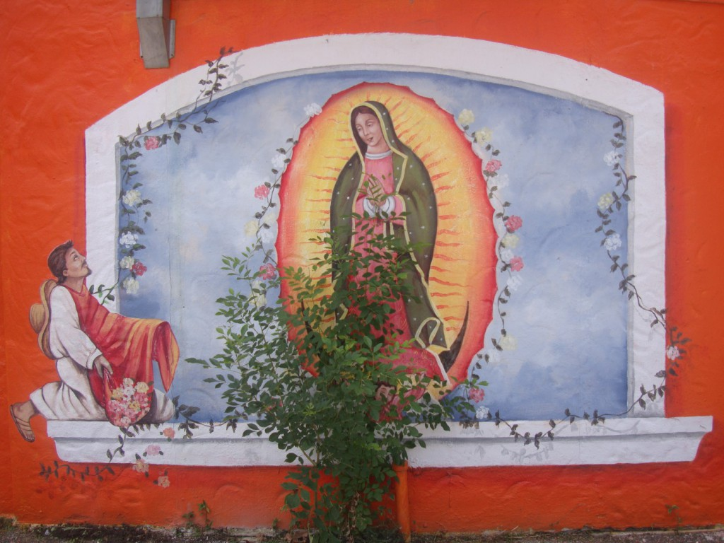 Religious Iconography And Tacos Go Hand In Hand In San Antonio