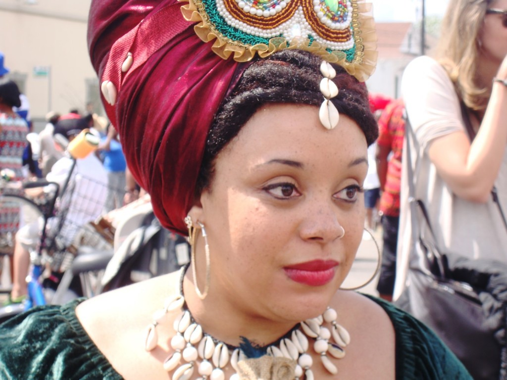 Voudou Priestess In New Orleans
