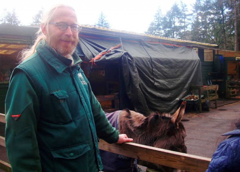 Robert Is A Donkey Expert And Long Time Volunteer At Stichting De Ezelsociëteit In Zeist