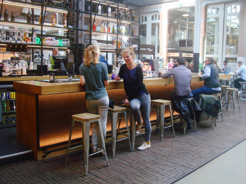 Inside Foodhallen In Amsterdam Noord Holland