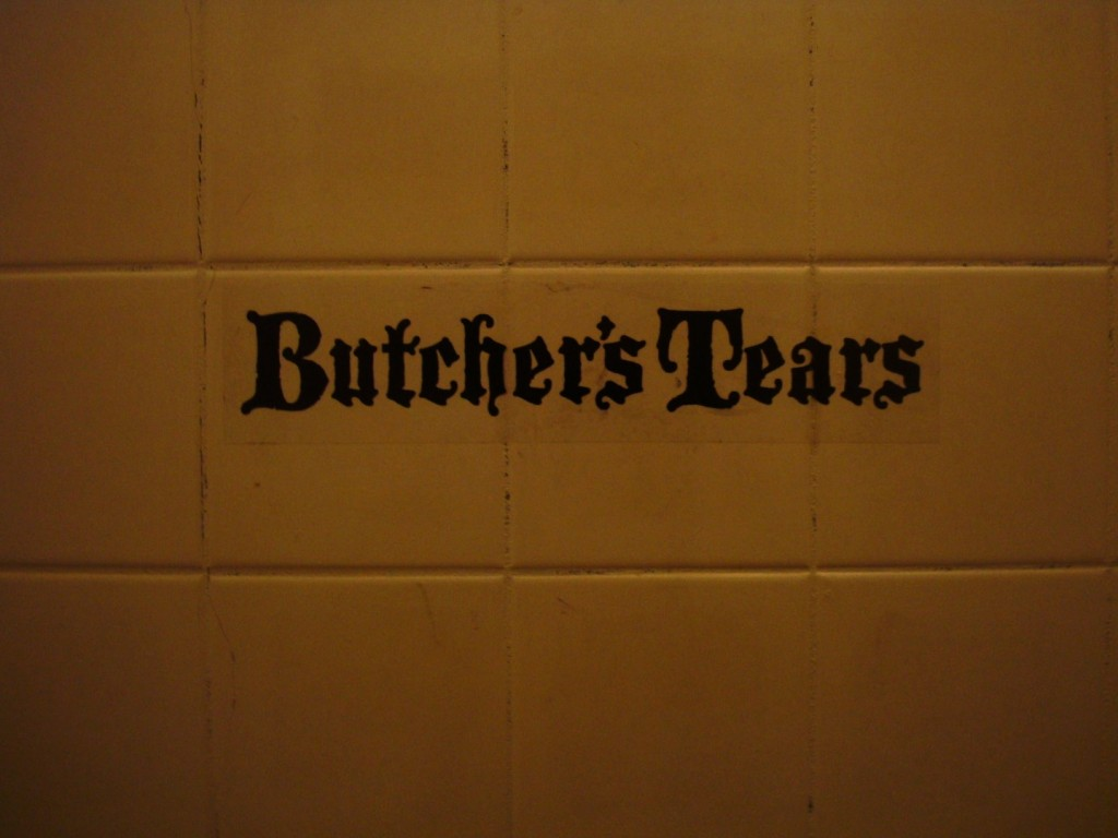 Butcher's Tears Is Felicia von Zweigbergk, Erik Nordin and Herbert Nelissen