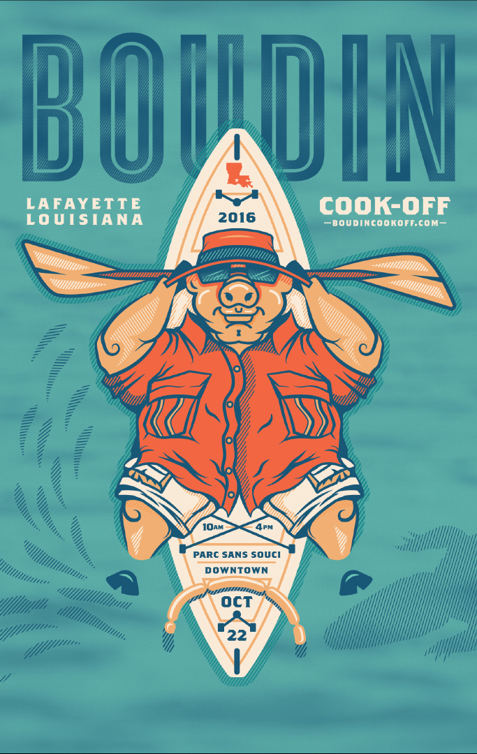 2016 Boudin Cook-Off In Lafayette Louisiana